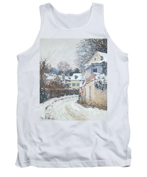 Road Louveciennes Tank Top by Alfred Sisley