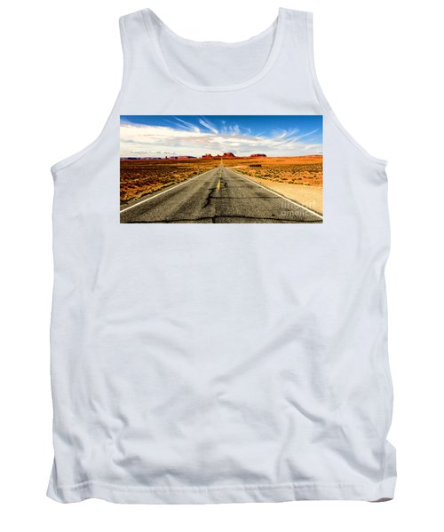 Road To Navajo Tank Top