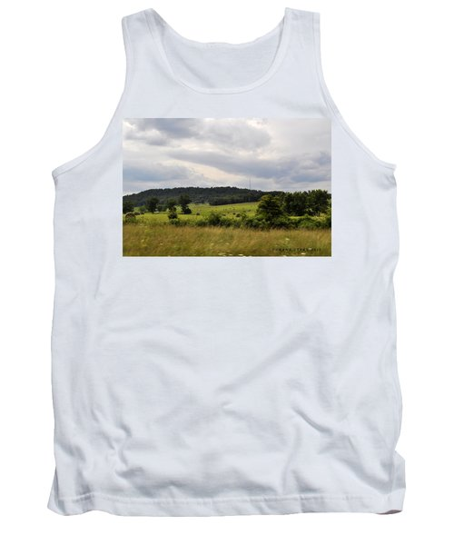 Tank Top featuring the photograph Road Trip 2012 by Verana Stark