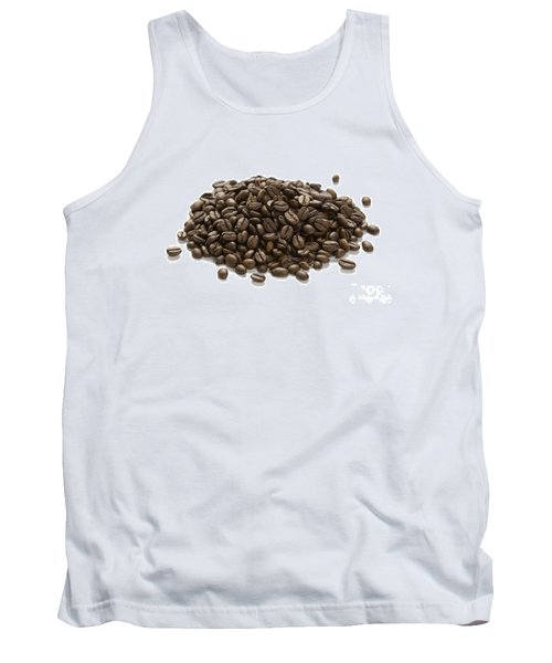 Tank Top featuring the photograph Roasted Coffee Beans by Lee Avison