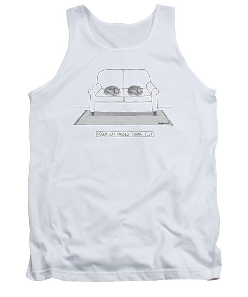 Robot Cat Passes Turing Test Tank Top