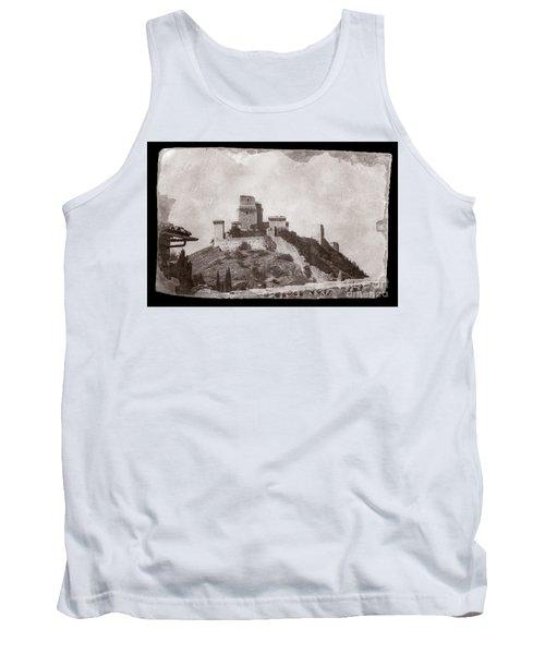 Rocca Maggiore Castle Tank Top