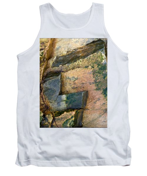 Tank Top featuring the photograph Rock On by Liz  Alderdice