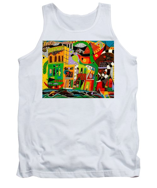 Rockland Tank Top by Clarity Artists