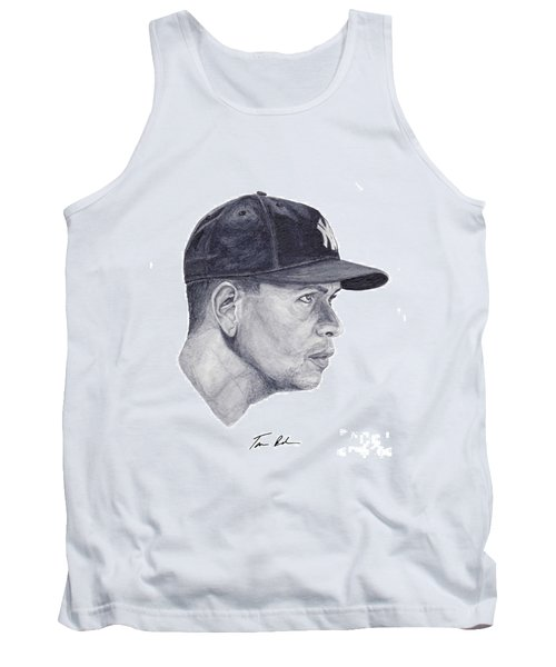 Tank Top featuring the painting Rodriguez by Tamir Barkan