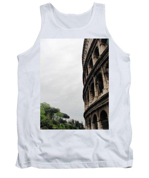 Tank Top featuring the photograph Roman Coliseum by Tiffany Erdman