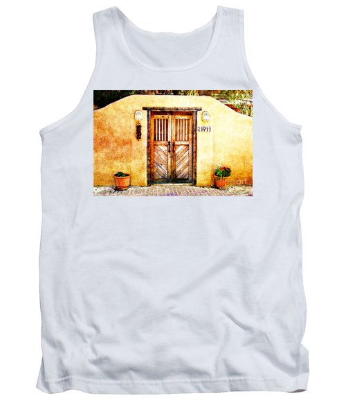 Romance Of New Mexico Tank Top by Barbara Chichester