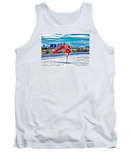 Roof Top Tank Top by Gregory Worsham