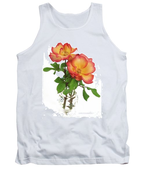 Rose 'playboy' Tank Top