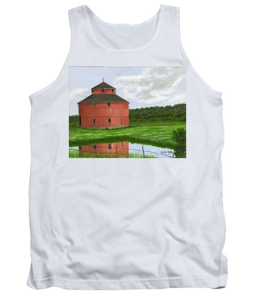 Round Barn Tank Top by Dustin Miller