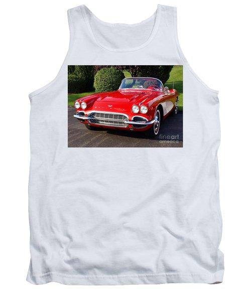 Route 66 - 1961 Corvette Tank Top