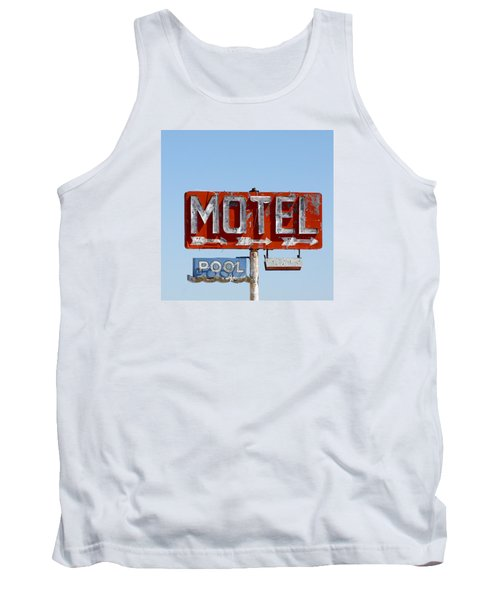 Route 66 Motel Sign Tank Top