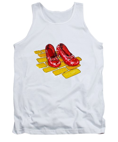 Ruby Slippers The Wizard Of Oz  Tank Top