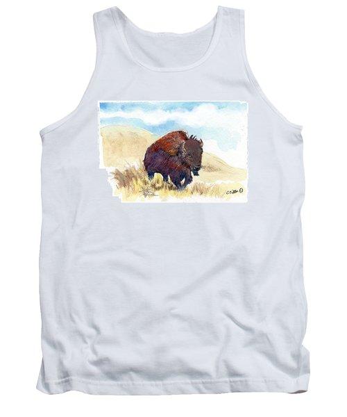 Running Buffalo Tank Top