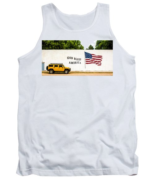 Rural America Wall Mural Tank Top