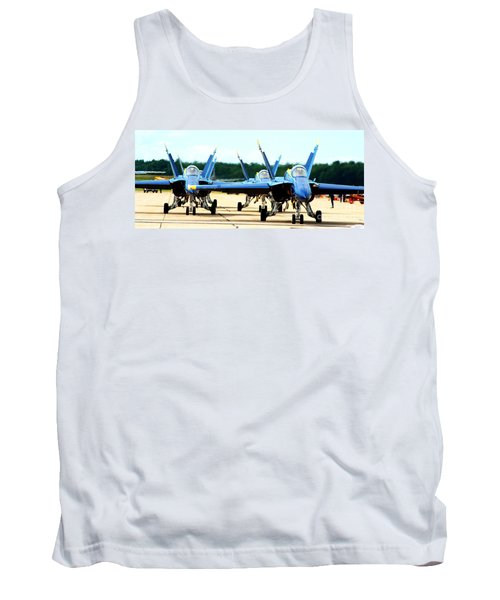 Rush Hour For Angels Tank Top by Kevin Fortier