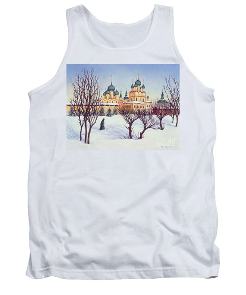 Russian Winter Tank Top by Tilly Willis