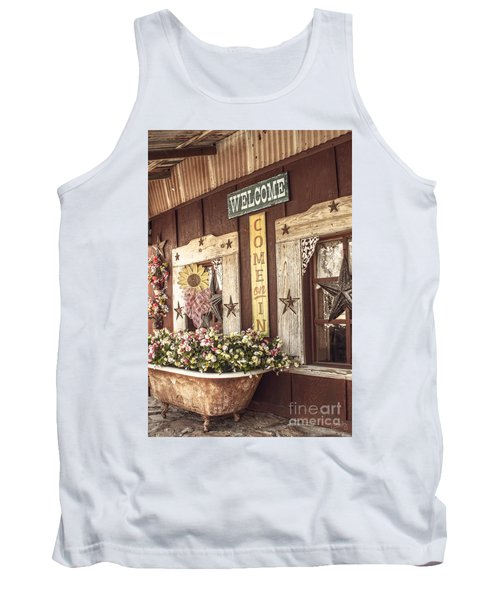 Rustic Country Welcome Tank Top