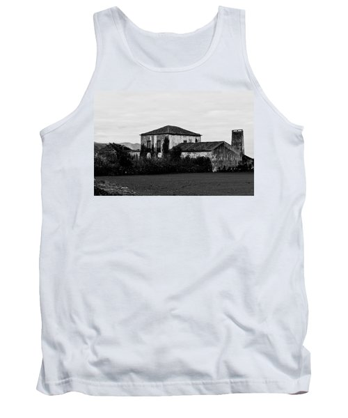 Rustic Outbuildings In A Field  Tank Top