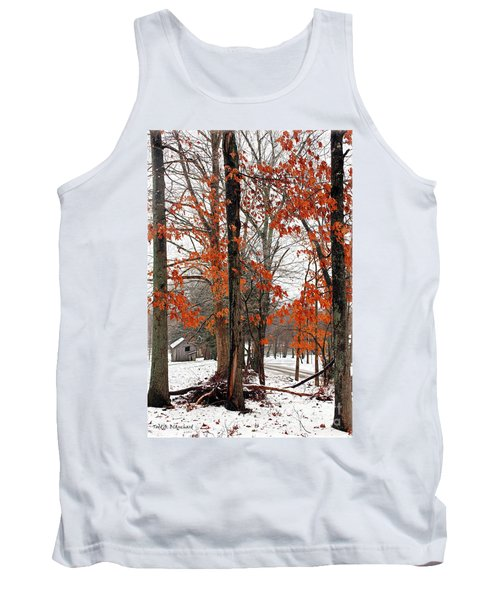 Rustic Winter Tank Top