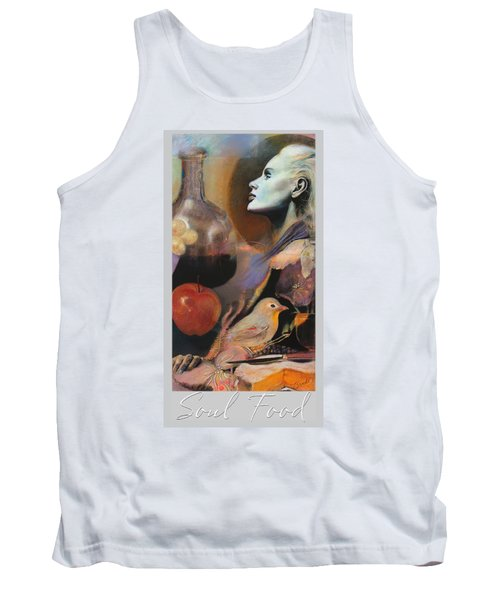 Soul Food - With Title And Light Border Tank Top