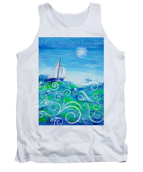 Sailing By Jan Marvin Tank Top