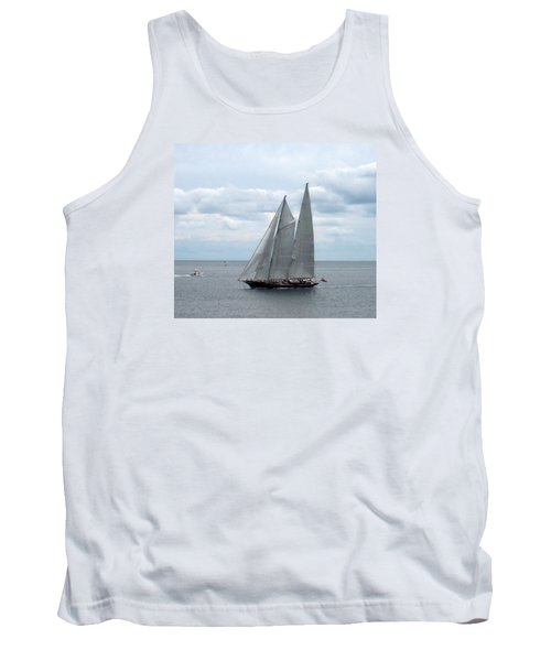 Sailing Day Tank Top by Catherine Gagne