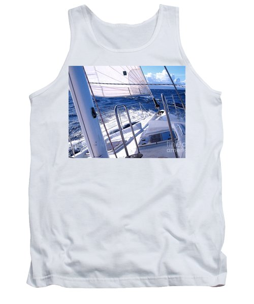 Sailing Hawaii Tank Top