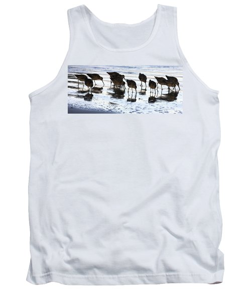 Sand Pipers Reflected Tank Top