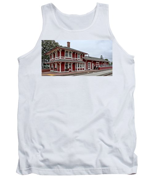 Tank Top featuring the photograph Santa Paula Station by Michael Gordon