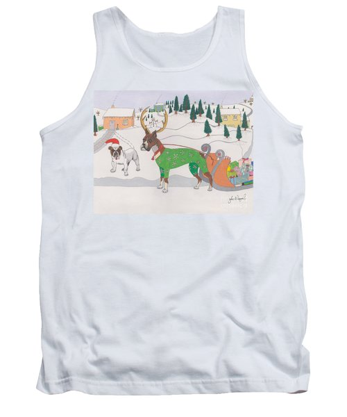 Santas Helpers Tank Top