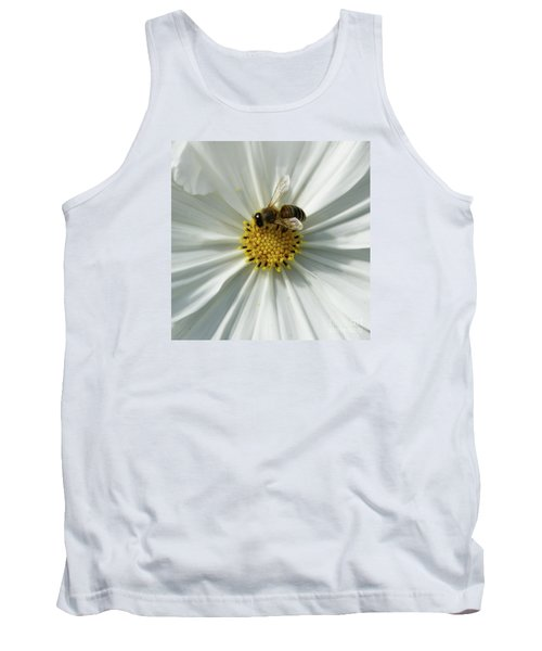 Tank Top featuring the photograph Satin Sheets by Linda Shafer