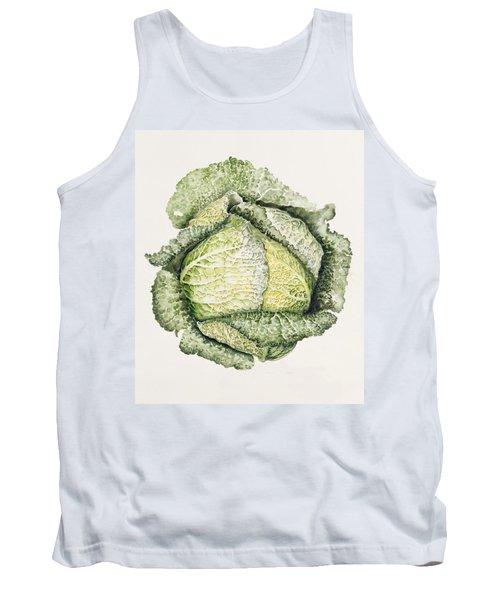 Savoy Cabbage  Tank Top