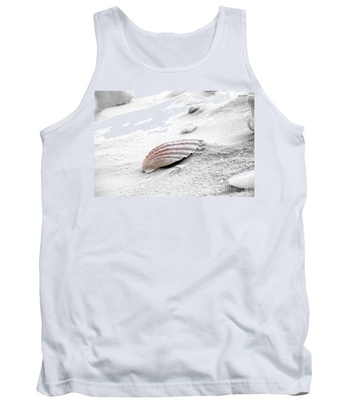 Tank Top featuring the photograph Scallop Shell by Robert Meanor