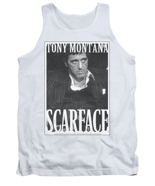 Scarface - Business Face Tank Top