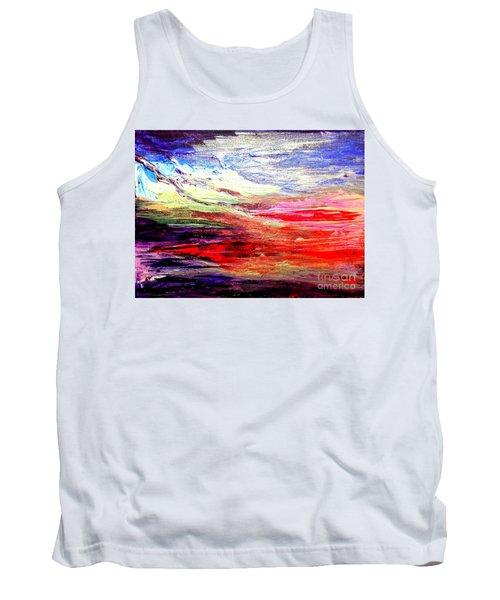 Sea Sky I Tank Top by Karen  Ferrand Carroll