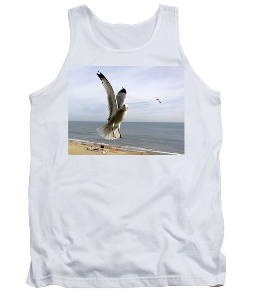 Inquisitive Seagull Tank Top