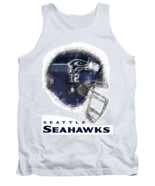 Seahawks 12 Tank Top