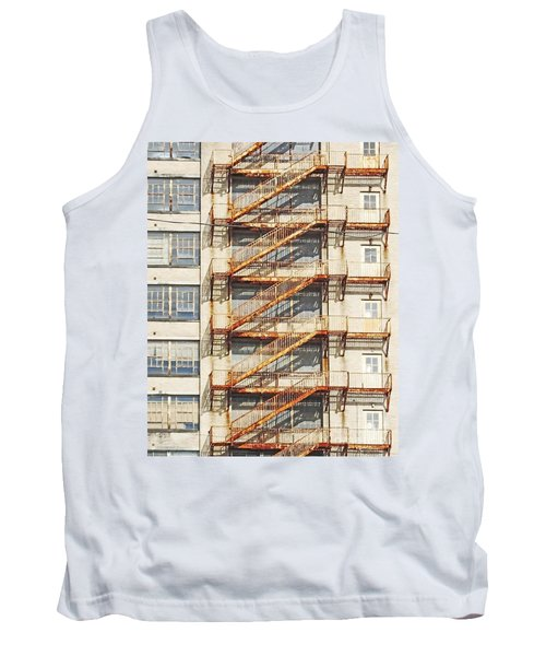 Sears Crosstown Fire Escape Memphis Tn Tank Top