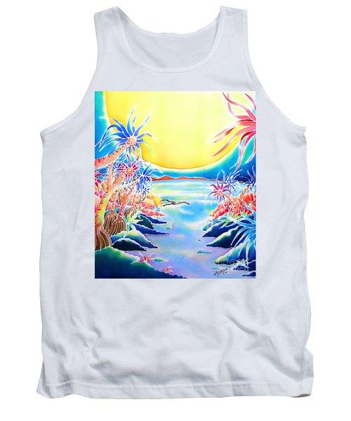 Seashore In The Moonlight Tank Top