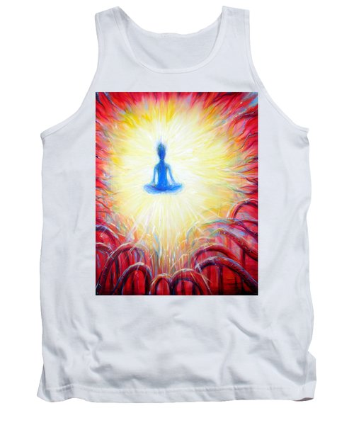 Seat Of The Soul Tank Top by Heather Calderon