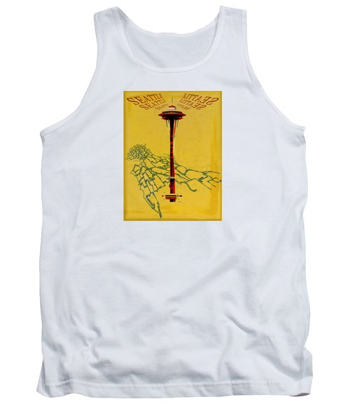 Seattle Calling Tank Top by Sandstone Inc