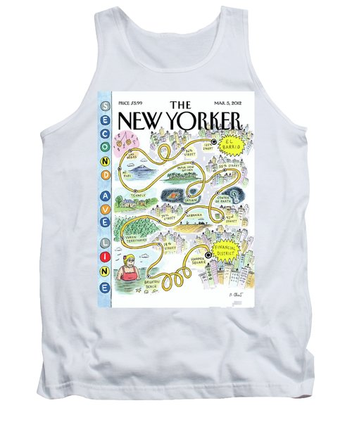 Second Avenue Line Tank Top