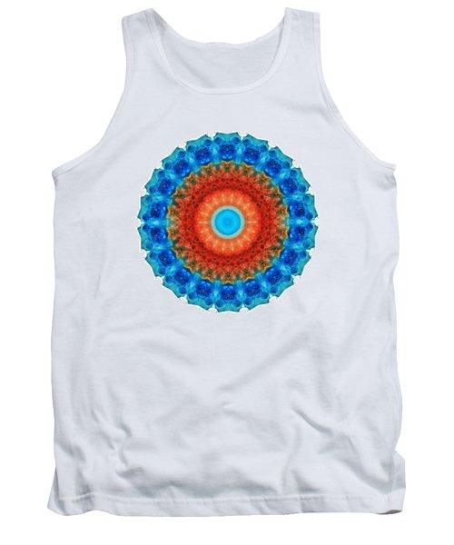 Seeing Mandala 2 - Spiritual Art By Sharon Cummings Tank Top