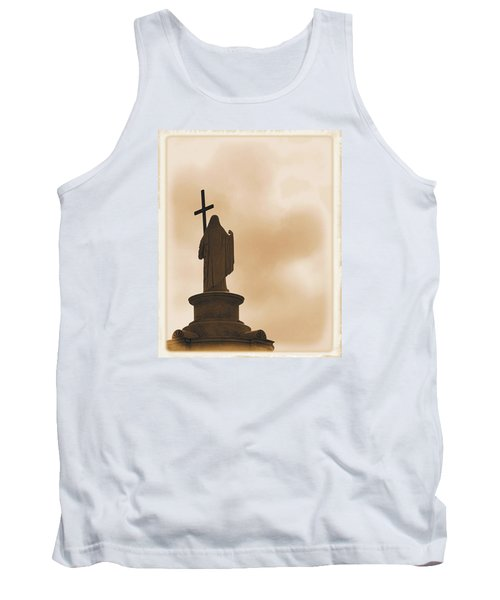 Tank Top featuring the photograph Seeking The Divine by Nadalyn Larsen