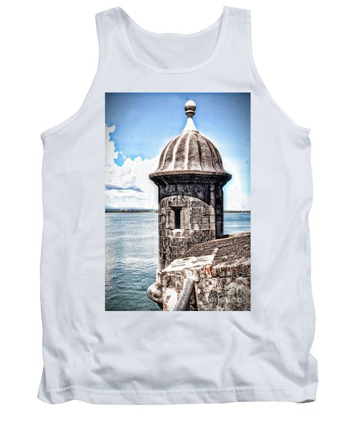 Sentry Box In El Morro Hdr Tank Top