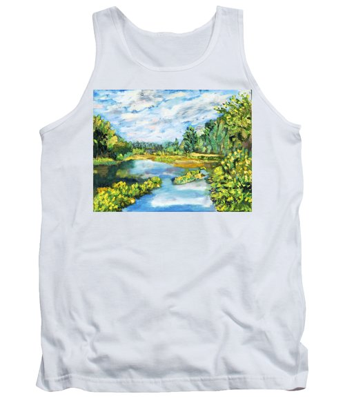 Serene Pond Tank Top
