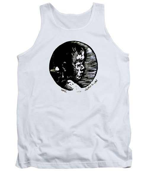 Tank Top featuring the relief Seth 2 by Seth Weaver