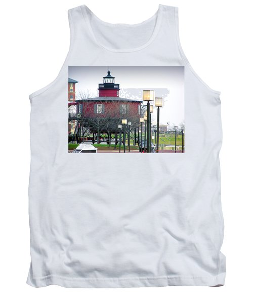 Tank Top featuring the photograph Seven Foot Knoll Lighthouse by Brian Wallace