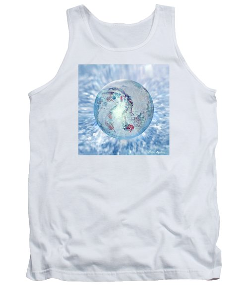 Tank Top featuring the painting Shades Of Winter by Robin Moline
